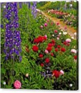 Mount Congreve Gardens, Co Waterford Acrylic Print by The Irish Image Collection
