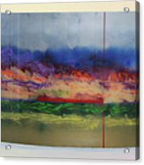 Mountain Crossing Acrylic Print by Mordecai Colodner