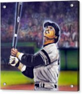 Mr. October Acrylic Print by Dave Olsen