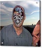 Mr. Robot-otto Acrylic Print by Otto Rapp