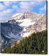 Mt. Timpanogos In The Wasatch Mountains Of Utah Acrylic Print by Utah Images