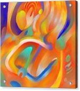 Musical Enjoyment Acrylic Print by Peter Shor