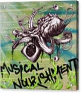 Musical Nourishment Acrylic Print by Tai Taeoalii