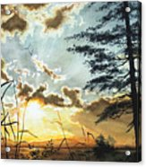 Muskoka Dawn Acrylic Print by Hanne Lore Koehler