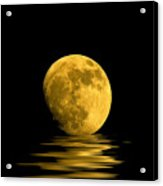 My Harvest Moon Acrylic Print by Lynn Andrews