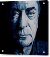 My Name Is Michael Caine Acrylic Print by Paul Lovering