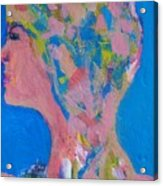 My Teacher--psychological Child Abuser Acrylic Print by Judith Redman