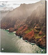 Na Pali Coast 4 - Kauai Hawaii Acrylic Print by Brian Harig