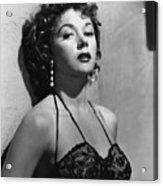 Naked Alibi, Gloria Grahame, 1954 Acrylic Print by Everett