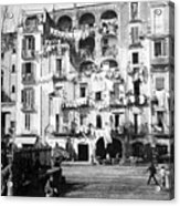 Naples Italy - C 1901 Acrylic Print by International  Images