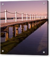 Narrabeen Sunrise Acrylic Print by Avalon Fine Art Photography