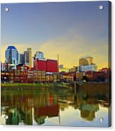Nashville Tennessee Acrylic Print by Steven  Michael