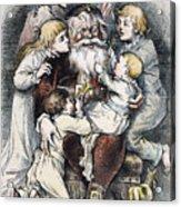 Nast: Christmas, 1879 Acrylic Print by Granger