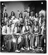 Native American Delegation, 1877 Acrylic Print by Granger