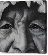 native Indian Acrylic Print by Anastasis  Anastasi