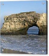 Natural Bridges State Park - Santa Cruz - California Acrylic Print by Brendan Reals