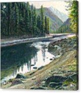 Near Horse Creek Acrylic Print by Steve Spencer