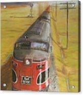 Near Thistle  Ks Acrylic Print by Christopher Jenkins