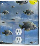 New Energy Acrylic Print by Keith Dillon