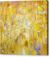 New Jerusalem Acrylic Print by Beka Burns