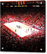 New Mexico Lobos University Arena Acrylic Print by Replay Photos