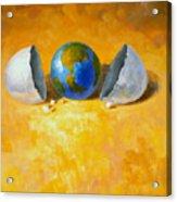 New World Acrylic Print by Andrew Judd