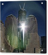 New World Trade Center Acrylic Print by David Smith