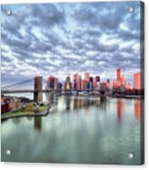 New York City Acrylic Print by Photography by Steve Kelley aka