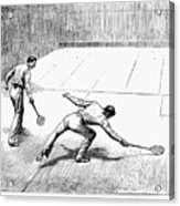 New York: Racket Club Acrylic Print by Granger