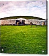 Newgrange Morning Acrylic Print by Douglas Barnett