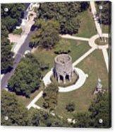 Newport Tower Rhode Island Acrylic Print by Duncan Pearson