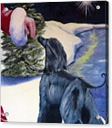 Night Before Xmas Acrylic Print by Terry  Chacon