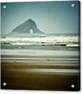 Ninety Mile Beach Acrylic Print by Dave Bowman
