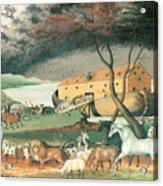 Noah's Ark Acrylic Print by Edward Hicks