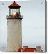 North Head Lighthouse - Ilwaco On Washington's Southwest Coast Acrylic Print by Christine Till