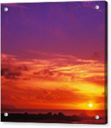 North Shore Sunset Acrylic Print by Vince Cavataio - Printscapes