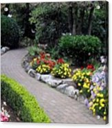 North Vancouver Garden Acrylic Print by Will Borden