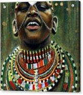 Nubian Dream Acrylic Print by Gary Williams