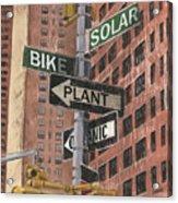 Nyc Broadway 2 Acrylic Print by Debbie DeWitt