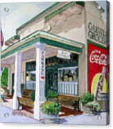 Oakville Grocery Acrylic Print by Gail Chandler