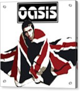 Oasis No.01 Acrylic Print by Unknow
