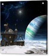 Observatory Acrylic Print by Cynthia Decker