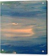 Ocean Abstract Acrylic Print by Brad Scott
