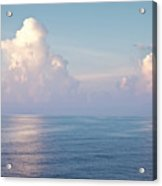 Ocean And Sky Acrylic Print by Blink Images