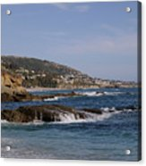 Ocean View Acrylic Print by Timothy OLeary