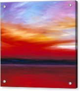 October Sky  Acrylic Print by James Christopher Hill