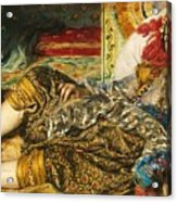Odalisque Acrylic Print by Pg Reproductions