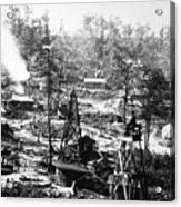 Oil: Pennsylvania, 1863 Acrylic Print by Granger