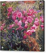 Olbrich Garden Series -  Garden 1    Acrylic Print by Lisa Konkol