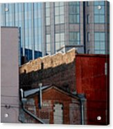 Old And New Close Together Acrylic Print by Susanne Van Hulst